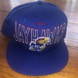 NewEra Kansas JawHawks College Basketball SnapBack